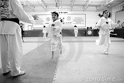 Tae Kwon Do / Korean Martial Arts Editorial Photo