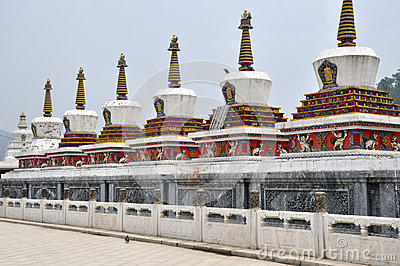Taer Temple stupa