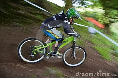 Taff Buggy Downhill Mountain Bike Editorial Image