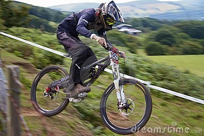 Taff Buggy Downhill Mountain Bike Editorial Photo