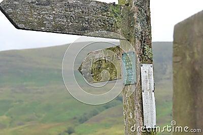 Taff trail sign