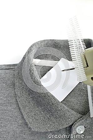 Tag andTagging gun of cloth