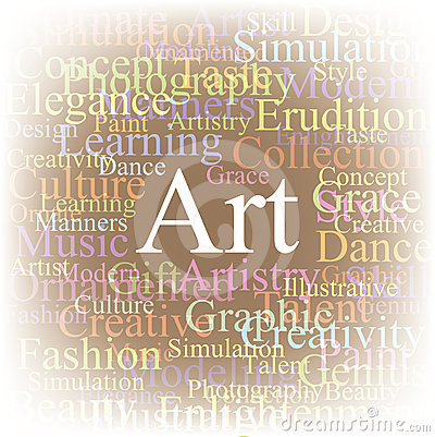 Tag cloud Art