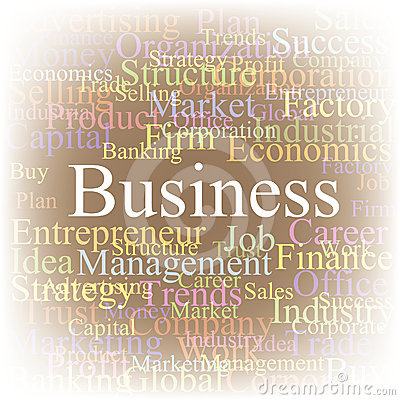 Tag cloud Business.