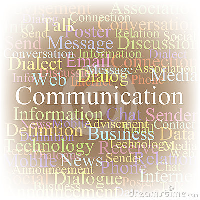 Tag cloud Communication