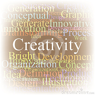 Tag cloud Creativity
