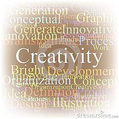 Tag cloud Creativity