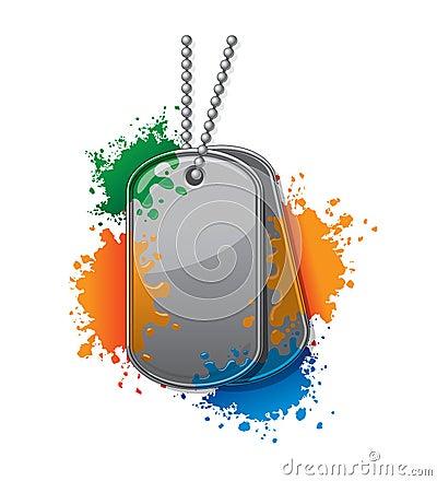 Tag do exército de Painball