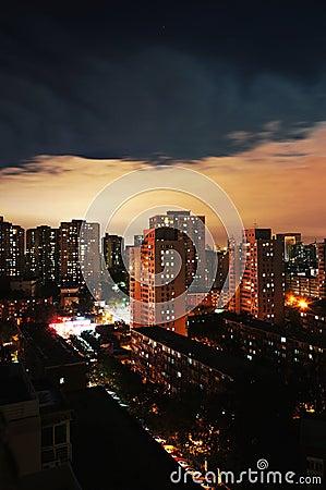 Tag und Nacht Peking