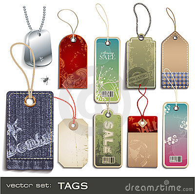 Free Tags Stock Images - 13068074