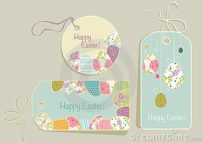 Tags on Easter theme