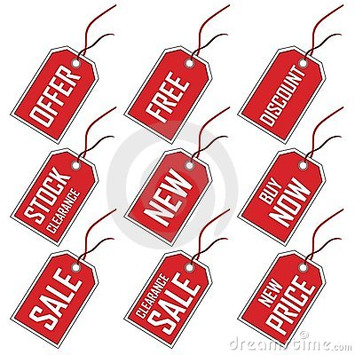 Tags For Sale