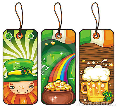 Tags for the St. Patricks Day 1