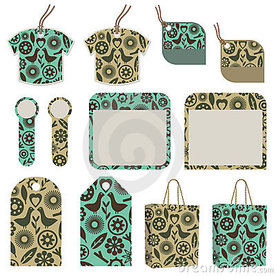 Tags, tabs and bags