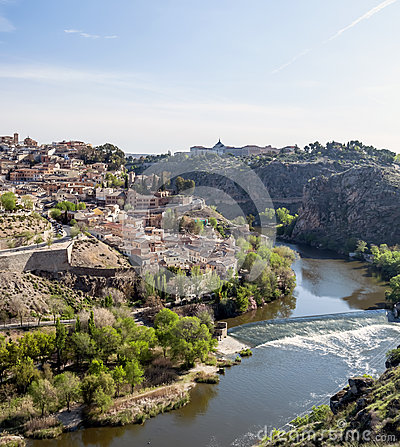 Tagus River in Toledo