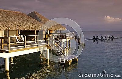 Tahiti - French Polynesia - South Pacific Editorial Stock Image