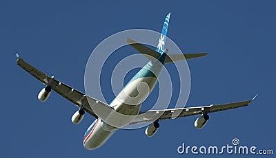 Tahiti Nui A340 Editorial Image