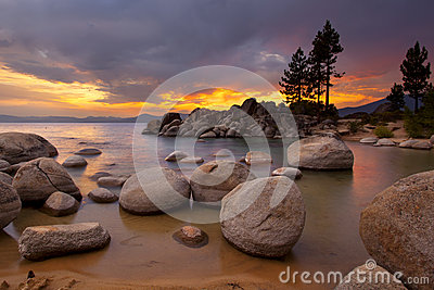 Tahoe Sunset 1