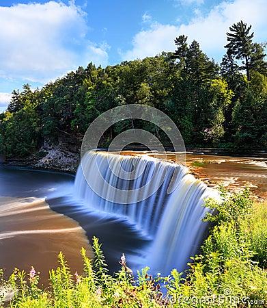 Free Tahquamenon Falls In Summer Stock Image - 75305171