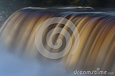Tahquamenon falls long exposure