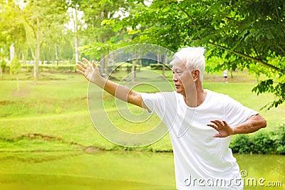 Tai chi senior