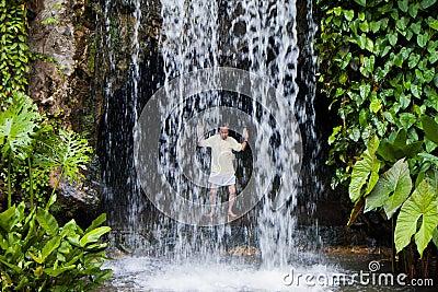 Taichi Waterfall Editorial Photo
