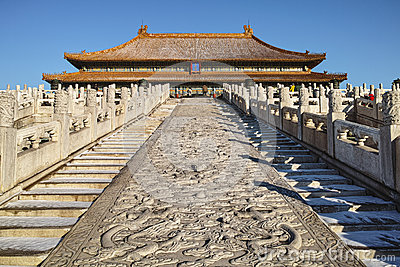 Taihe palace in Forbidden City