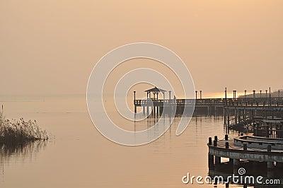Taihu lake s dock