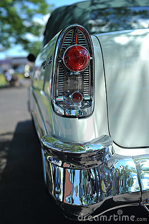 Tail-light and bumper