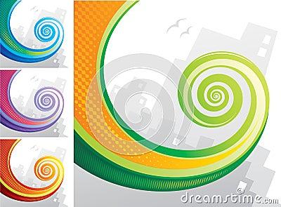 Tail Spiral