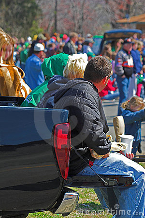 Free Tailgate Party Stock Image - 694601