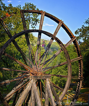 Tailing Wheel, Jackson California