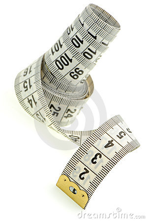 Free Tailor Measuring Tape Royalty Free Stock Photo - 11028925