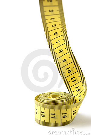 Free Tailor Measuring Tape Isolated Royalty Free Stock Images - 4368359