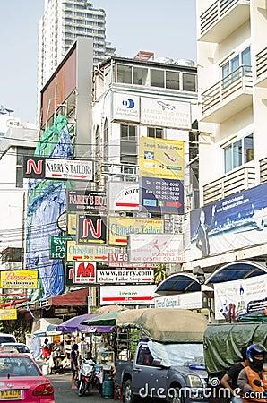 Tailors  District, Bangkok Editorial Photo