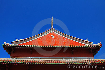 Tainan Official God of War Temple s Rooftop