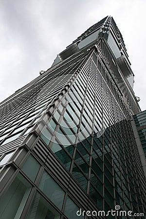 Taipei 101 skyscraper Taiwan Editorial Image