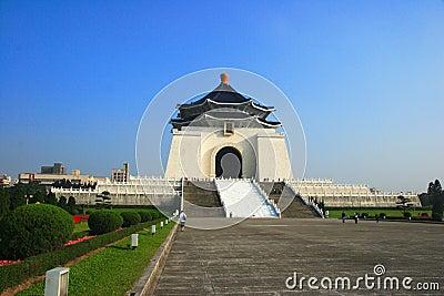Taipei Liberty Square and CKS memorial hall Editorial Photography