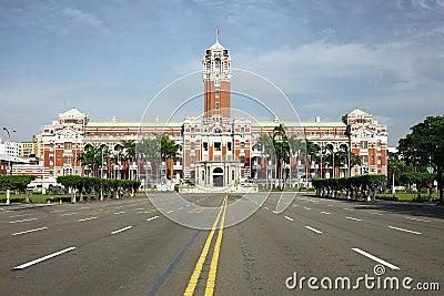 Taipei Presidential Building Nobody