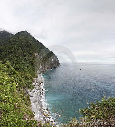 Taiwan Ching Shui Cliff panorama