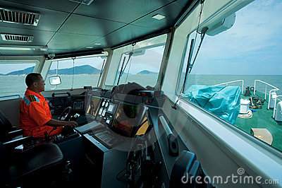 Taiwan Coast Guard Captain Stock Photography - Image: 23182582