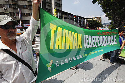 Taiwan independence Editorial Photography