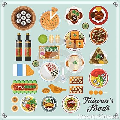 Free Taiwan Snacks Stock Image - 60968331