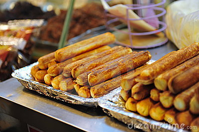 Taiwanese cheese sticks