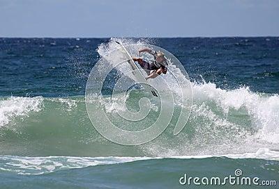 Taj Burrows - Australian Open Manly Australia Editorial Image