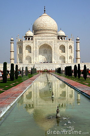 Taj Mahal Editorial Stock Image