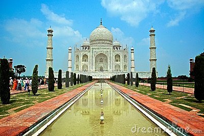 Taj Mahal Editorial Photography