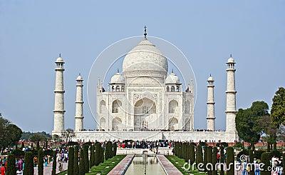 The Taj Mahal Editorial Photo