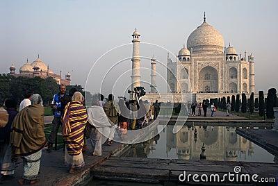 Taj Mahal Editorial Photo