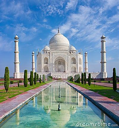 Free Taj Mahal Stock Image - 34471591